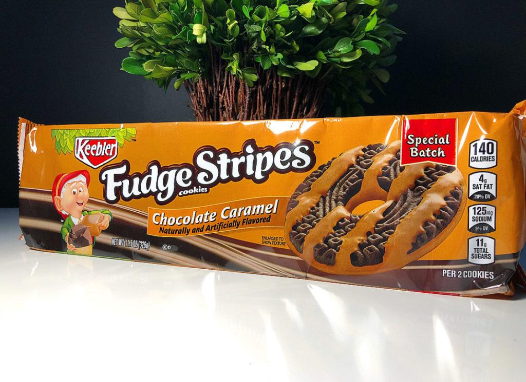 REVIEW Keebler Chocolate Caramel Fudge Stripes